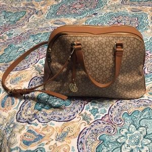 DKNY purse with shoulder strap
